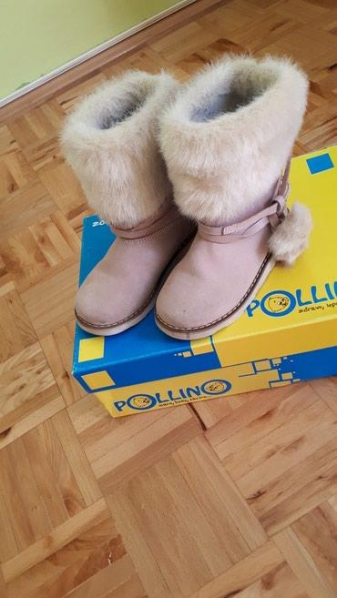 Kosa prirodna - Sabac: Pollino cizme za devojcice, ocuvane, u odlicnom stanju, bez ikakvih