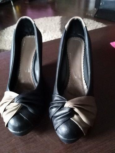 Jako lepe i dobro očuvane ženske cipele. Cipele su par puta obuvene - Ruma