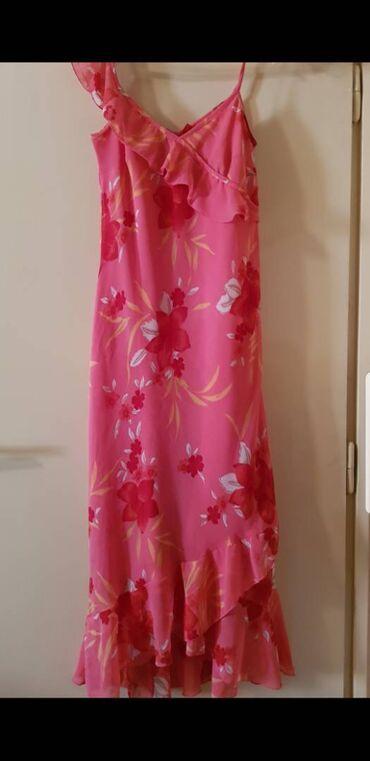 50 oglasa: Letnja asimetrična haljinadužine 130 cm,veličine 38