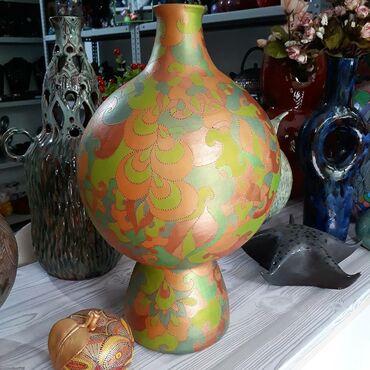 184 объявлений: Продаю керамическую вазу ручной работы. Авторская роспись