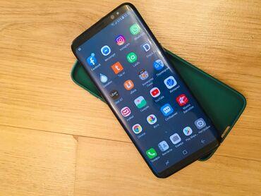 bluboo s8 - Azərbaycan: İşlənmiş Samsung Galaxy S8 64 GB qara