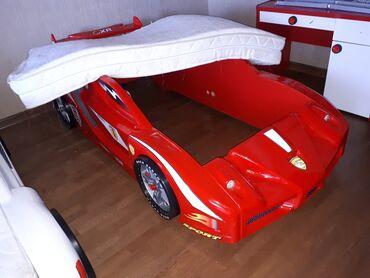 Продаю кровать машинку Б/У Производство Турция. Материал качественный