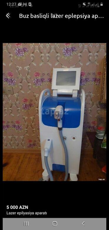 lazer aparati satilir in Azərbaycan   TIBBI AVADANLIQ: Buz başlıqlı lazer aparatı. Effekti super dəyərindən çox aşağı