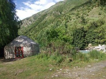 Отдых на Иссык-Куле - Арчалы: Сдается юрта в ущелье Аларча