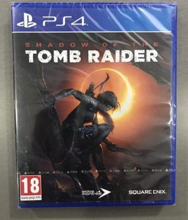 Bakı şəhərində Ps4 üçün shadow of the tomb Raider oyunu. Yenidir bağlı