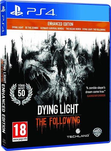 Dying light the following Ps4. Sony PlayStation 4 oyunlarının və