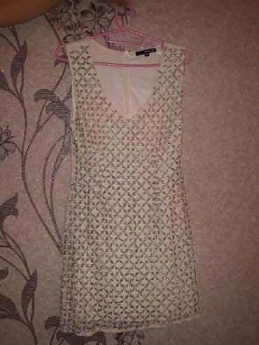 вечернее платье короткие в Кыргызстан: Короткие вечерние платья. Размер 38 S. 500 сом за 2 платья