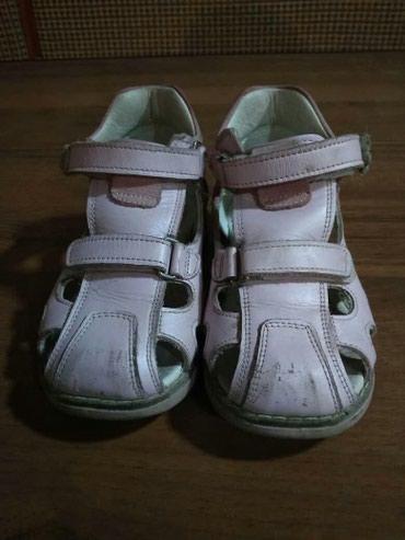 Детские сандалии для девочки.Ортопедические.Кожа. в Ош