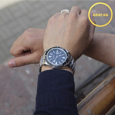 curren 8158 в Кыргызстан: Серебристые Мужские Наручные часы Curren