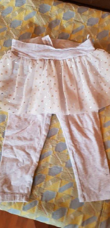 Helankice sa suknjicom za uzrast od godinu ipo dana, 86cm - Pozarevac