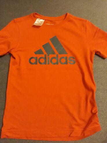 Majica adidas sweatshirt - Srbija: ADIDAS decija majica vel7-8, ocuvana