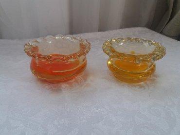 Антикварные вазы в Кыргызстан: Вазочки для варенья, креманки, конфетницы. Цветное стекло. Советские