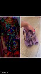Komplet,haljina s velicine,sandale 38 br. - Palic