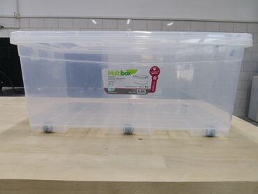 контейнеры бишкек in Кыргызстан | ОБОРУДОВАНИЕ ДЛЯ БИЗНЕСА: Продам пищевой контейнер с колёсиками 40L, размер 40х62х26,7. Турция