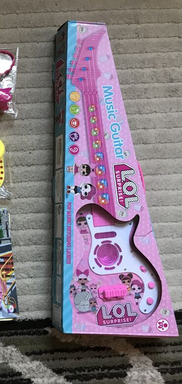 Распродажа игрушек! Срочно! Дешего! Гитара «Лол» музыкальная, мелодии