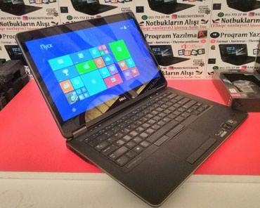 Bakı şəhərində Dell Thin Touch UltraBook i7 4cü nəsil + 8Gb Ram / Hədiyyəlik- 3