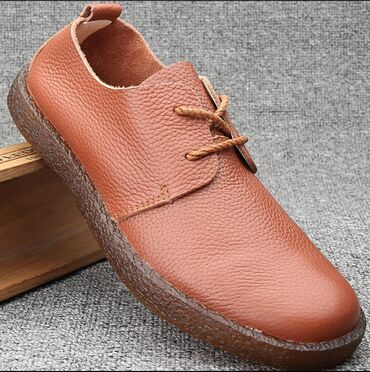 Личные вещи - Кок-Ой: Мужские кожанные туфли(топсайдеры)Доставки по всем регионамВыкуп