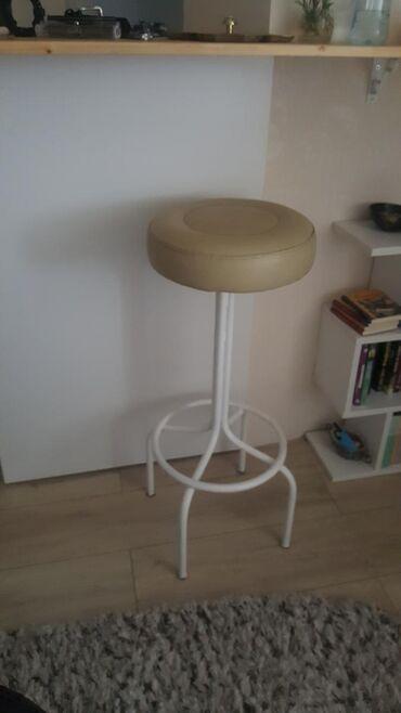 2 šank stolice metal eko koza neostecene u super stanju