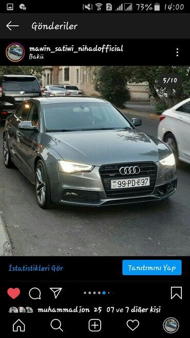 audi a5 18 tfsi - Azərbaycan: Audi A5 2015