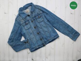 Джинсовая куртка для девочки (170 см.) Denim    Длина: 48 см Рукава: 6