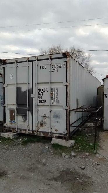 Продам контейнер 40 т. С местом в гаражном кооперативе 46а, 12 микрора