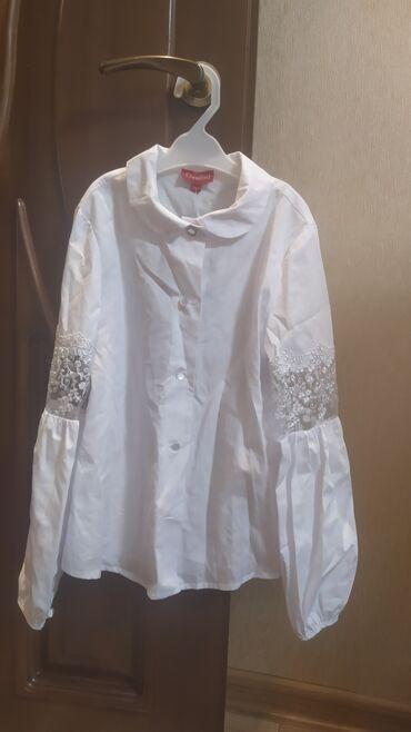 """Детский мир - Кыргызстан: Школьная рубашка для девочек, фирмы """"Чесфорд"""" (школьная одежда)пр-во"""