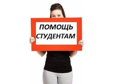 Помощь студентам в Бишкек