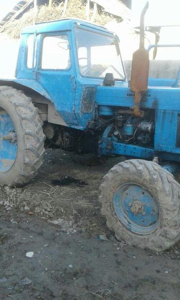 Продам трактор мтз80, на ходу не требует ремонт. Руль гидравлический в Базар-Коргон