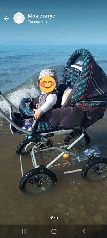 Продаю детскую коляску 2в1 (Вездеход ))) Состояние хорошее