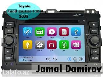 Bakı şəhərində Toyota Land Crusier 120 2008 üçün DVD-monitor,