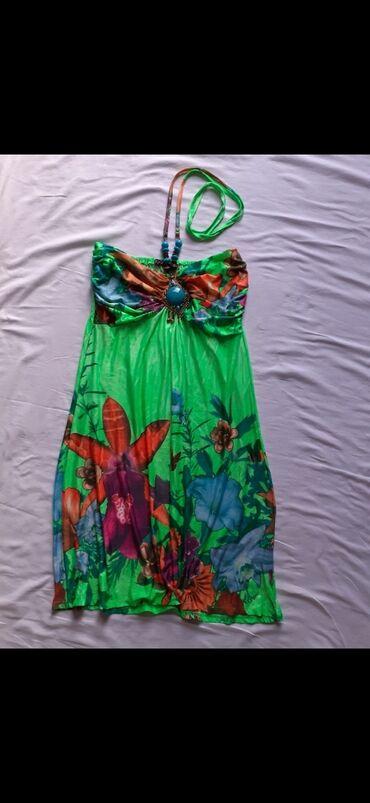 Haljine - Gornji Milanovac: Ženska letnja šarena haljina, univerzalna veličina