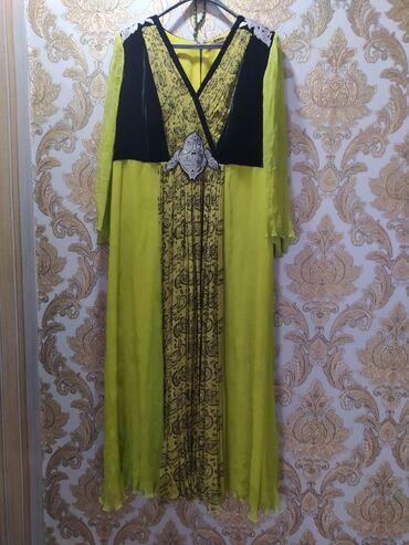 """вечернее платье 54 размера в Кыргызстан: Вечернее платье от """"Дилбар"""", размер 54-56, одевали только два раза на"""