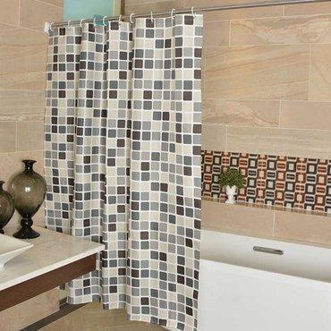 В наличии!!! Занавески в ванную комнату! Стильное прикрытие приятных,  в Бишкек
