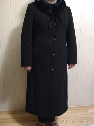 В Оше Пальто,размер 44,турция,черного цвета в Ош