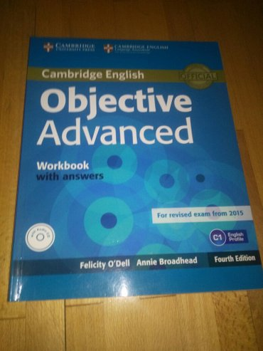 Cambridge english objective advanced workbook. Radna sveska za cae. - Belgrade