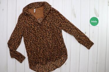 Жіноча сорочка у леопардовий принт Stradivarius, p. S    Довжина: 75 с