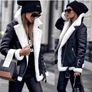 Kozna jakna sa vunom unutra u dve boje  Izuzetno topla  Velicina S, M