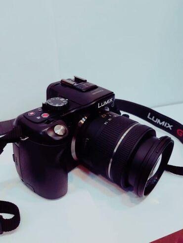 фотоаппарат panasonic lumix dmc fz50 в Азербайджан: Fotoaparat, PANASONIC LUMIX DMC-G5 işlənmişdir, çanta və yaddaş kartı