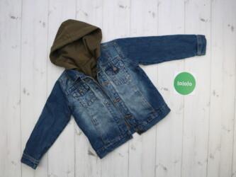 Дитяча джинсова куртка Topy Top, на зріст 116 см    Довжина: 41 см Рук