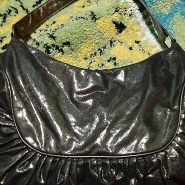 Crna torba sa sjajem,novo lagana i meka