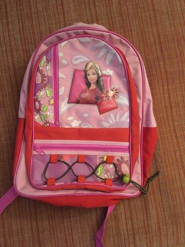 Skolski-ranac - Srbija: Barbie ranac za devojcice, za skolu, sa cetiri pregrade, dve velike i
