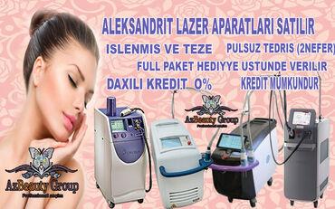 Kofe aparatlari - Азербайджан: Aleksandrit lazer aparatlari her cur modelde yeni ve islenmis her cur