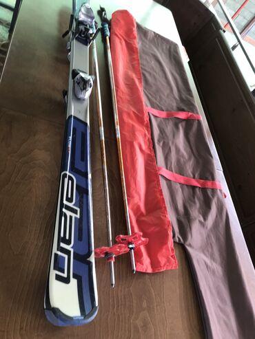 Лыжи - Бишкек: Лыжи ELAN рост 168 Словения Европа,в хорошем состоянии,есть комплект Б