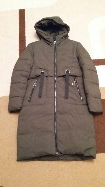 Куртка зимняя размер 44, цвет хаки (фото искажает цвет )
