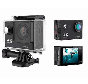 Электроника - Каракол: Продаю Экшн-камера F60 Ультра HD 4K Wi-Fi В комплекте коробка, шнур и
