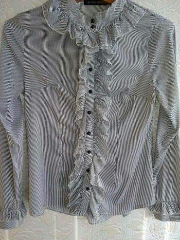 Продам красивую шелковую рубашку для в Ош