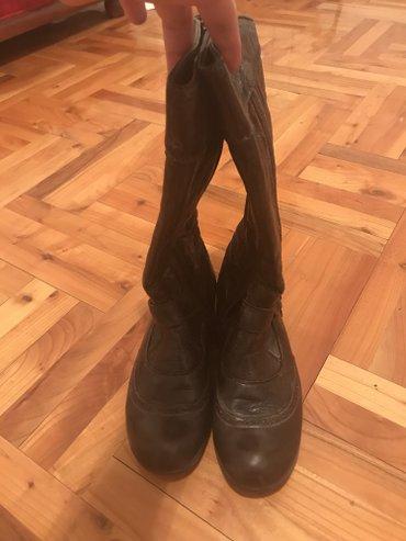 Braon-kozne-sandale-broj-pitajte - Srbija: Braon kozne cizme broj 37 par puta nosene