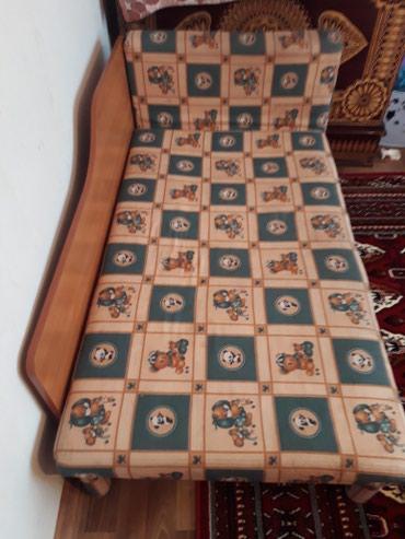 Б/у кровать, практичная. Можно  детям и в Бишкек