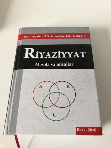 Riyaziyyat Yaqubov Məsələ və misallar içi təmiz ideal vəziyyətdədir