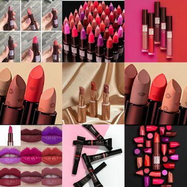 Kosmetika - Hövsan: 4-5-5,50-6-7-8-9-9,50-10-12 her qiymətdə dodaq boyası mövcuddur 🤗